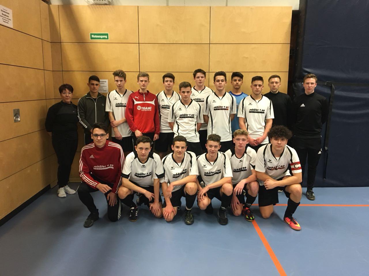 Erfolgreiche Hallenkreismeisterschaft der U17-Junioren-Fußballer
