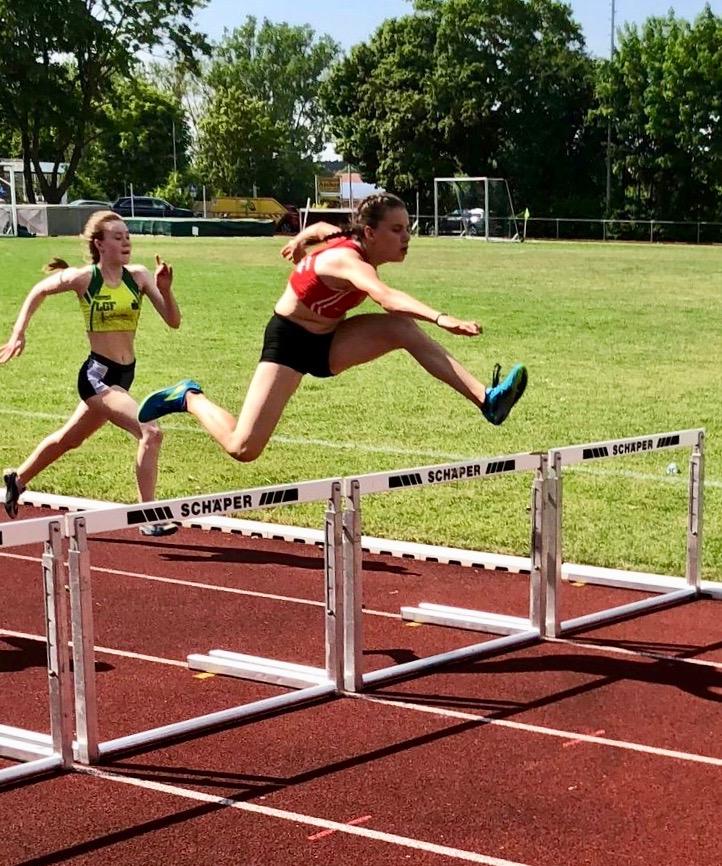 Hannah Wittmann dritte Nordbayerische Meisterin im Siebenkampf