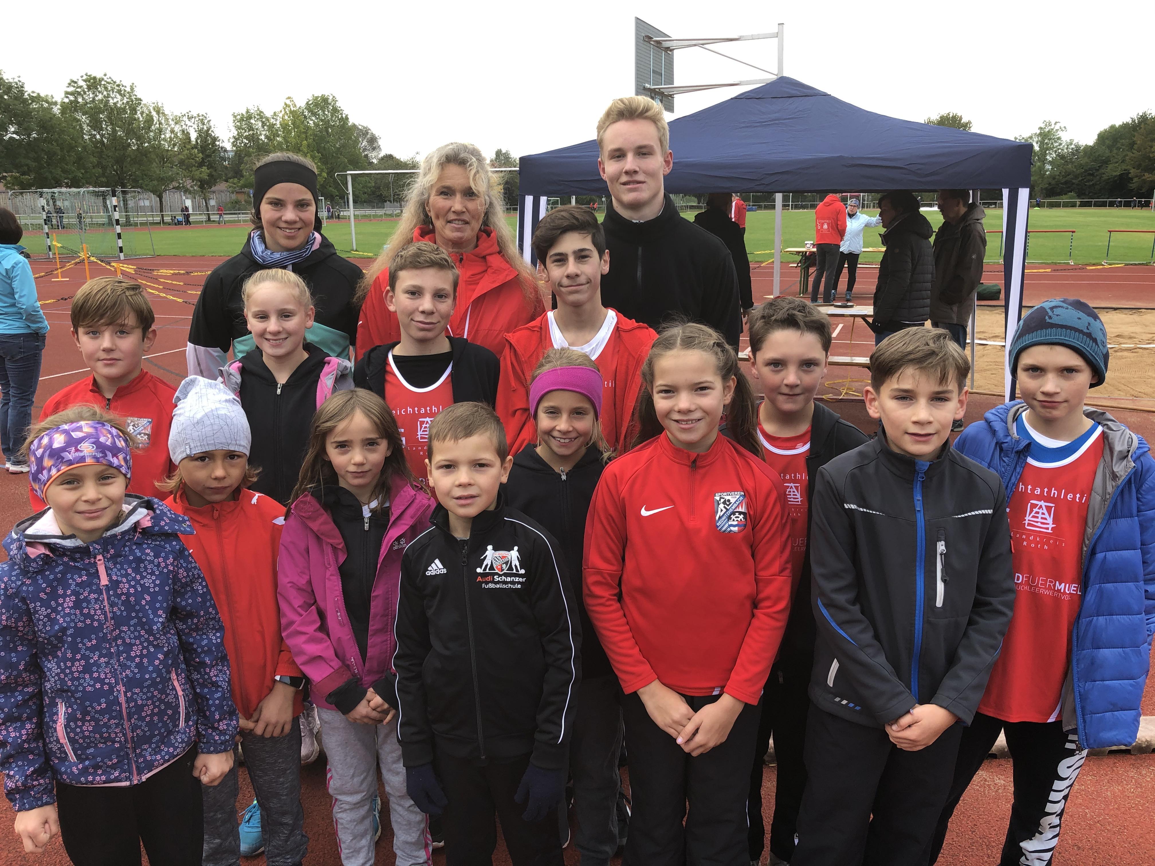 LG-Sportfest mit Kreismeisterschaften in Wendelstein